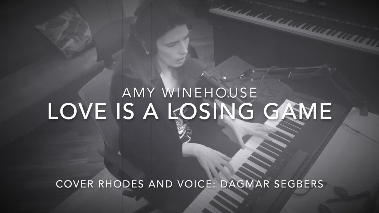 """Check out my cover of """"Love is  a losing game"""" by Amy Winehouse"""