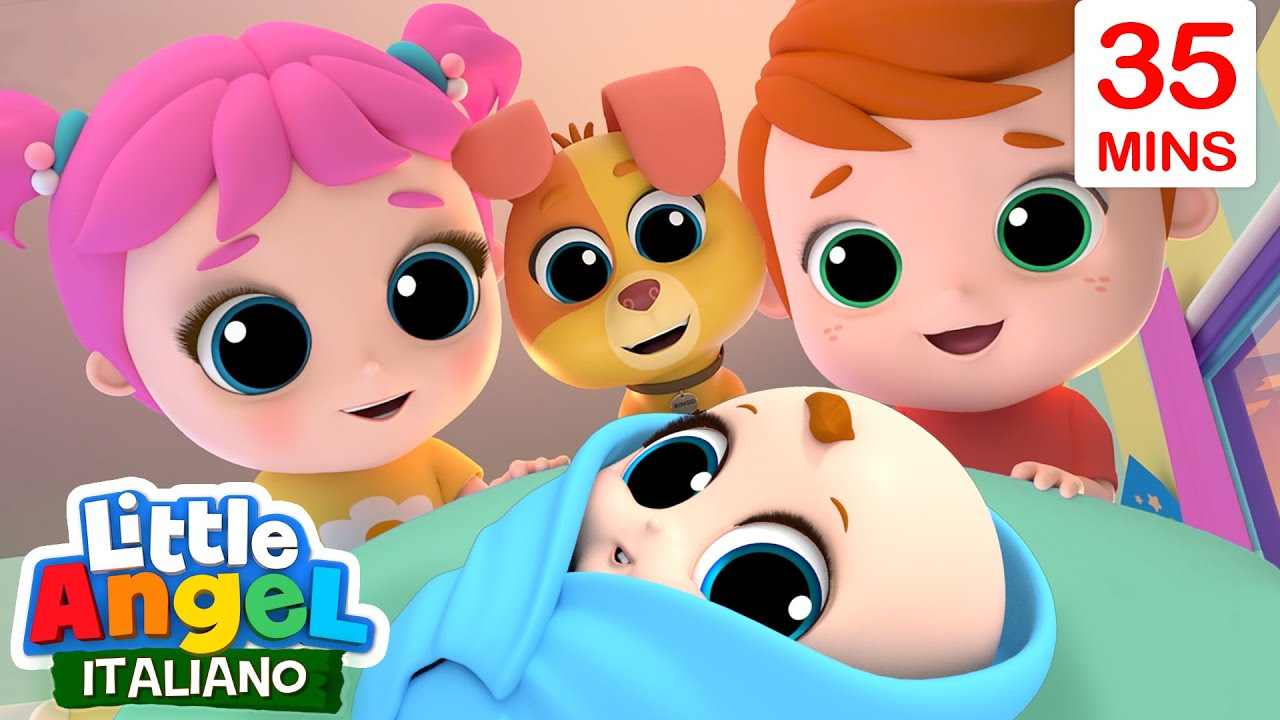 Come cresci GIANNI PICCINO ??❤️? Cartoni Animati & Canzoni Bambini | Little Angel Italiano