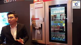 The 2017 LG Refrigerator Product Tour