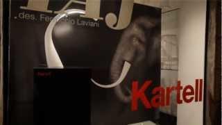 Kartell Monza Showroom - Lampada Taj