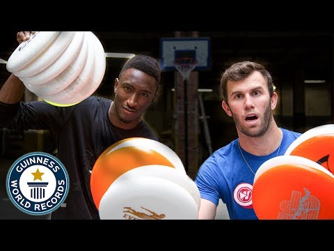 Frisbee World Records ft. MKBHD | Brodie Smith