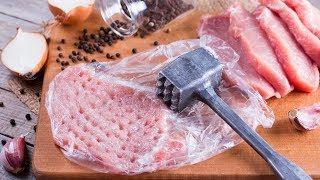 Das Fleisch muss gehämmert sein für diesen spanischen Kracher.