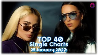 TOP 40 SINGLE CHARTS | 25//01//2020 | ILMC