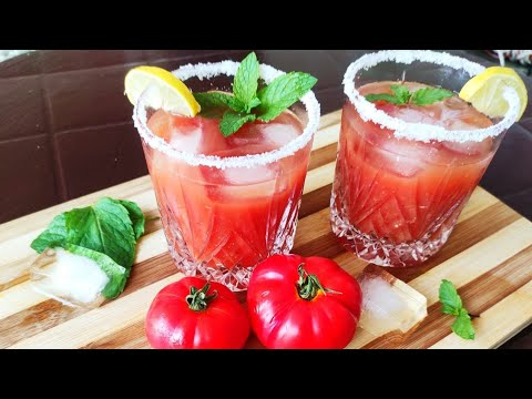 Chilled Tomato Soup | Super Healthy And Great For Hot Summers