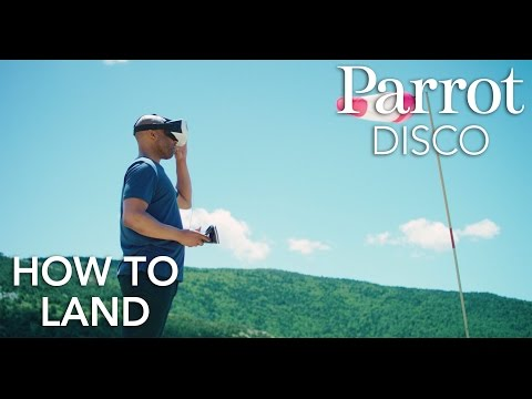 Parrot DISCO - Tutorial #6 - Landing