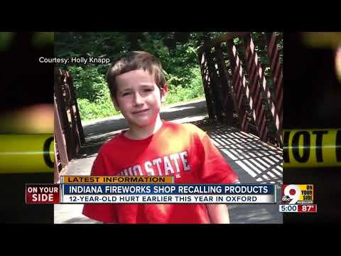 Leah Tyler - PA Included In Dangerous Fireworks Recall...
