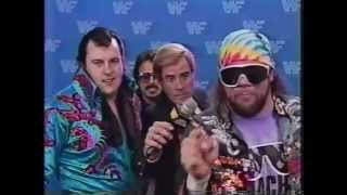 Macho Man and Honky Tonk Man Promo on Hogan/Steamboat (12-27-1…