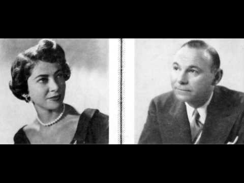 Abram Chasins & Constance Keene play Bach Concerto in C major BWV 1061