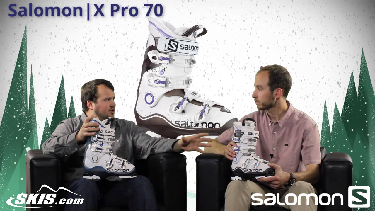 2015 Salomon X Pro 70, 80, and 90 Womens Boot Overview by SkisDOTcom