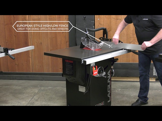 The New Line of Fusion Tablesaws Overview | Laguna Tools