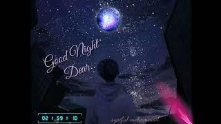 Story wa selamat tidur sayang