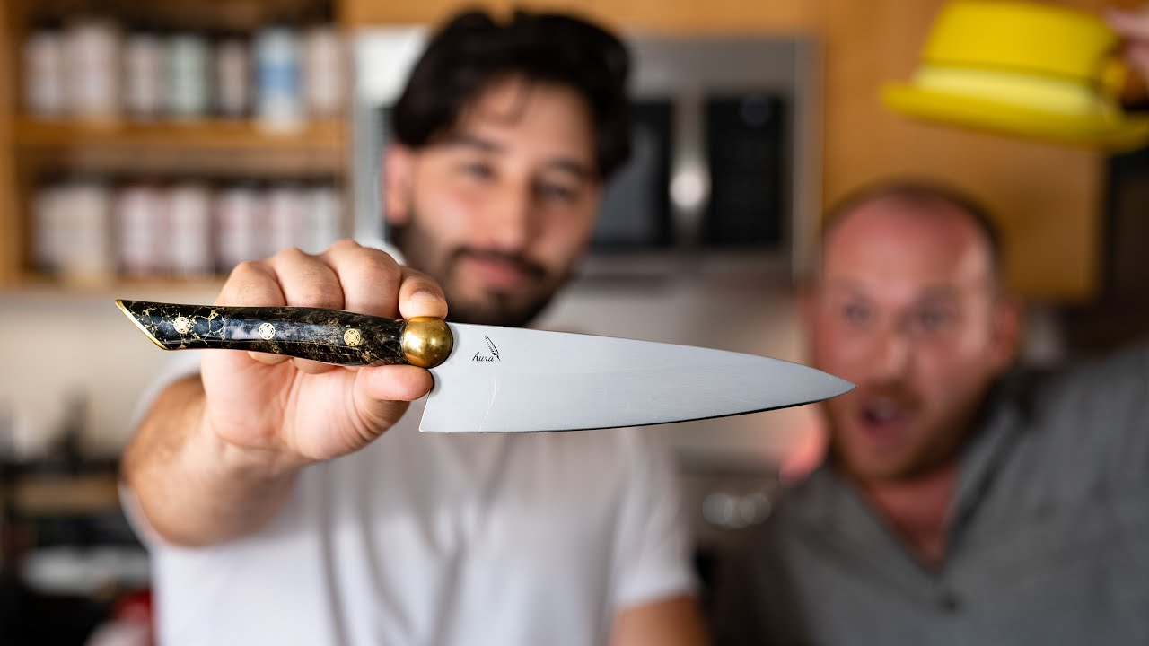 $600 Knife With Lisa Nguyen's Oyster