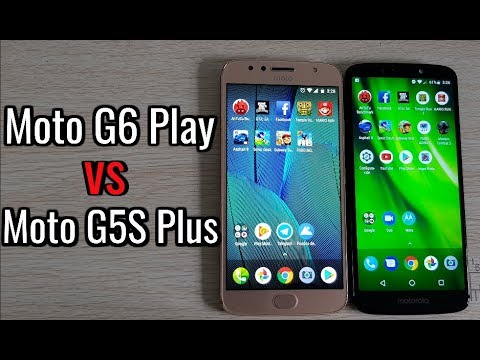 MOTO G5S PLUS VS G6