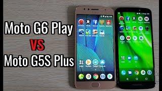 Moto G6 Play vs Moto G5S Plus | Speed Test Cuál es más rápido | antutu 3D benchmark