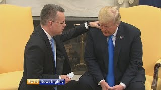 American Pastor Andrew Brunson Celebrates His Return to the U.S. - ENN 2018-10-15
