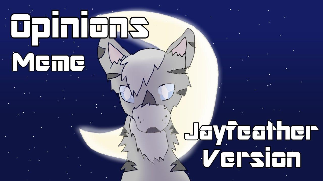 Opinions Animation Meme Warrior Cats Jayfeather Version Youtube