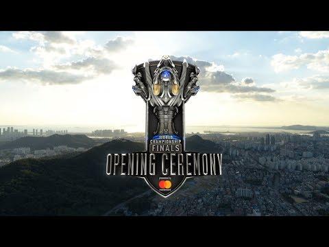 World championship 2018 Grand Final Opening Ceremony