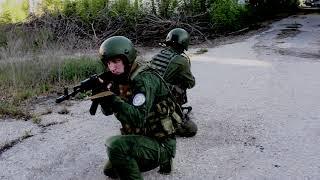 """САС""""ШТОРМ"""". Базовые технические приёмы работы с оружием."""