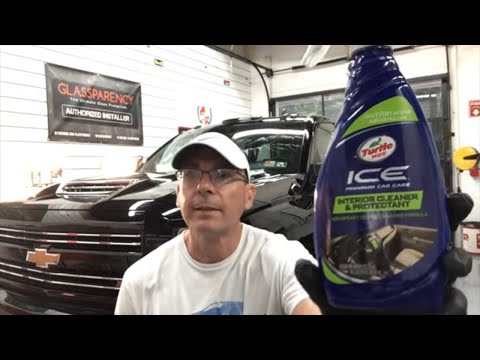 Here Is A BEST BUY Interior Cleaner/Conditioner/Protectant!!! TURTLE WAX ICE!!!