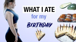 WHAT I ATE ON MY BIRTHDAY | YUMMY RECIPES