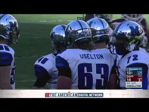 Football Highlights - Temple 31, #21 Memphis 12
