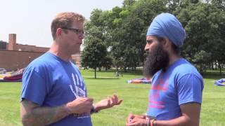 Sikh interviews Former White Supremist @ Oak Creek, Wisconsin