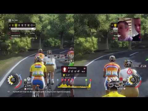 Tour de france 2015 pro team met Jochem | NL gamplay