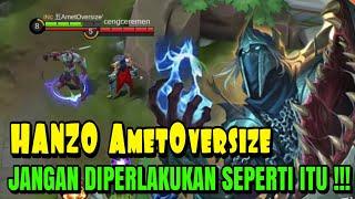 SUMPAH !! HANZO GW KAYA MIMPI DIPERLAKUKAN SEPERTI ITU !!! HANZO MOBILE LEGENDS INDONESIA