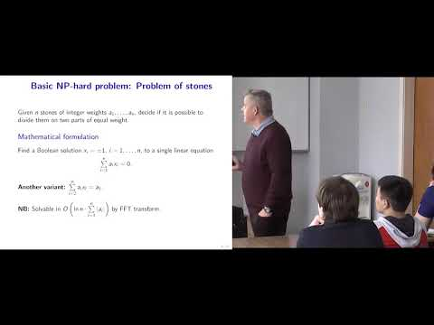 Modern Algorithmic Optimization - lec.1