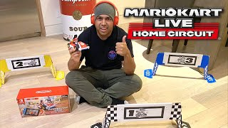 I TURNED MY KITCHEN INTO A MARIO KART COURSE! [MARIO KART LIVE: HOME CIRCUIT]