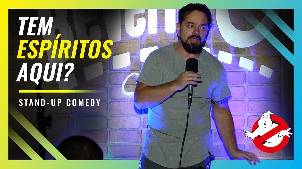 UM CAÇA-FANTASMAS VEIO NA MINHA CASA - ROGÉRIO VILELA | Stand up Comedy