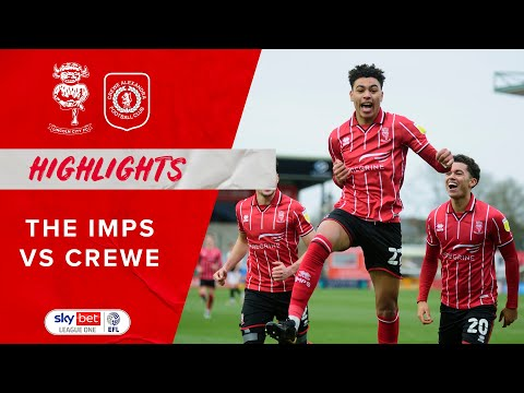 Lincoln Crewe Goals And Highlights