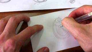 How to Draw Slimer from The Real Ghostbusters by Jim McGee