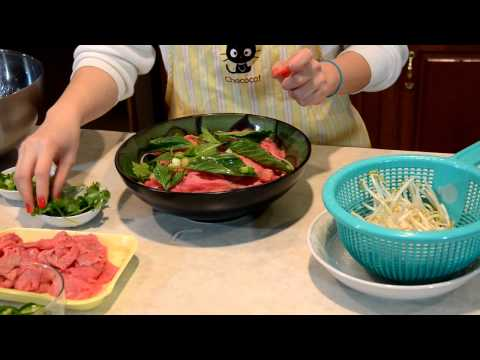 Easy to Make Vietnamese Pho Beef Noodle Soup 越南粉