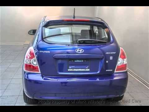 Mark Wilsons Better Used Cars 2009 Hyundai Accent Sport Sunroof 5 Spd Hatchback