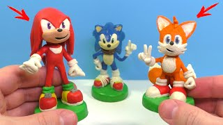 Лис Тейлз и Ехидна Наклз из игры Sonic The Hedgehog | Видео Лепка