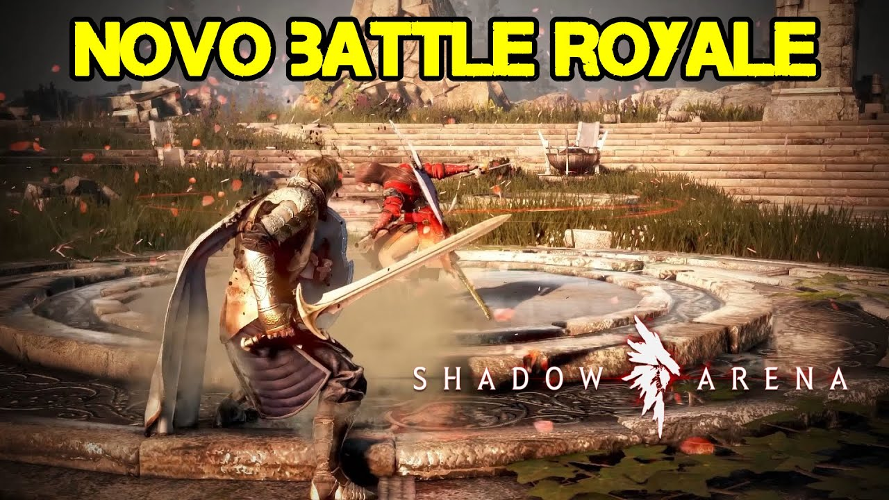 NOVO BATTLE ROYALE ESTILO RPG - SHADOW ARENA - GRÁTIS!!!