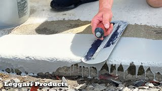 How To Repair Old Concrete| Project From Beginning To End | DIY Concrete Resurfacing Repair Tutorial
