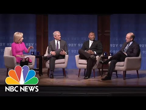 Andrea Mitchell Hosts Intelligence And Counterterrorism Panel At 92Y   NBC News