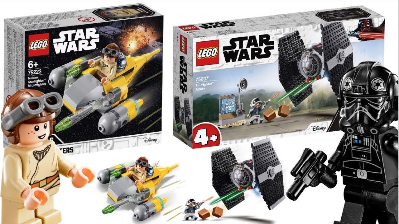 Lego Star Wars 2019 Tie Fighter Attack Naboo Starfighter