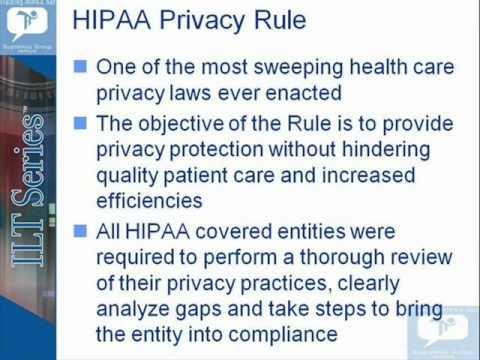 HIPAA Certification CHPE Demo - YouTube