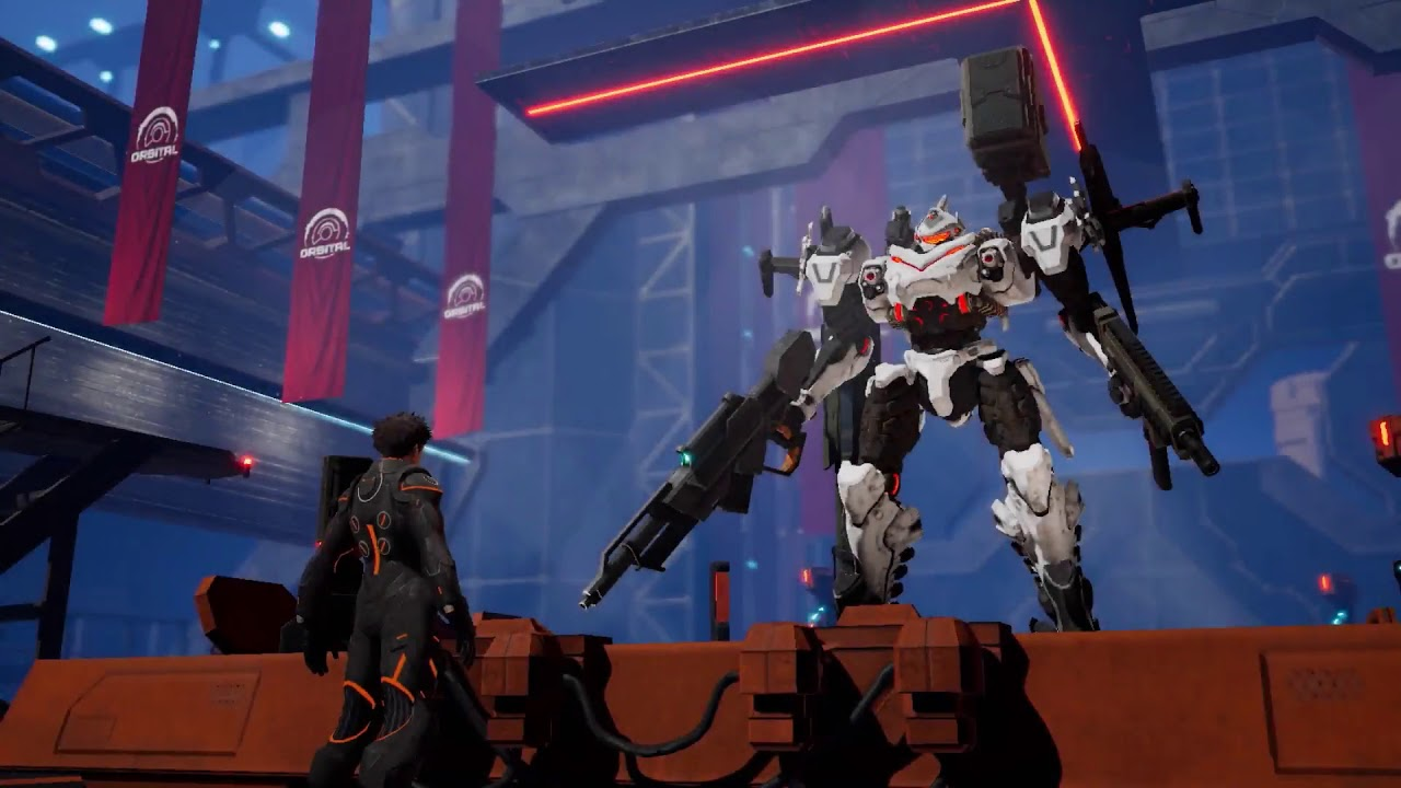 Daemon X Machina - Nintendo Direct Trailer - YouTube