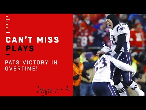 Brady & Co. Clinch Super Bowl Appearance w/ TD Drive in OT!