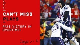 Brady & Co. Clinch Super Bowl Appearance w/ TD Drive in OT!