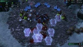 StarCraft II: Heart of the Swarm - Battle Report (Protoss vs Zerg)