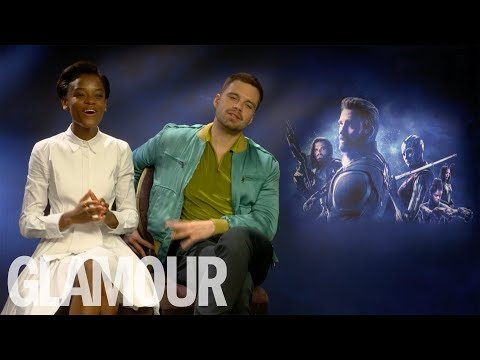 Letitia Wright On Her Friendship With Sebastian Stan & Her Beauty Mantras  GLAMOUR UK