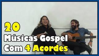 20 Músicas Gospel com 4 Acordes (Com Carolina Souza) l Aula #24