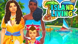 LOST ON AN ISLAND😢🌴🌊 // THE SIMS 4 | ISLAND LIVING - PART 1