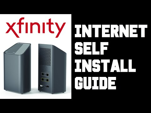 How To Self Install XFinity Internet XFinity XFi Internet Self Install Instructions Guide Video Help