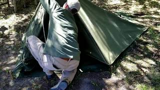 WW2 Pup Tents: The Easy Way to Setup and Pitch the Two Shelter Halves